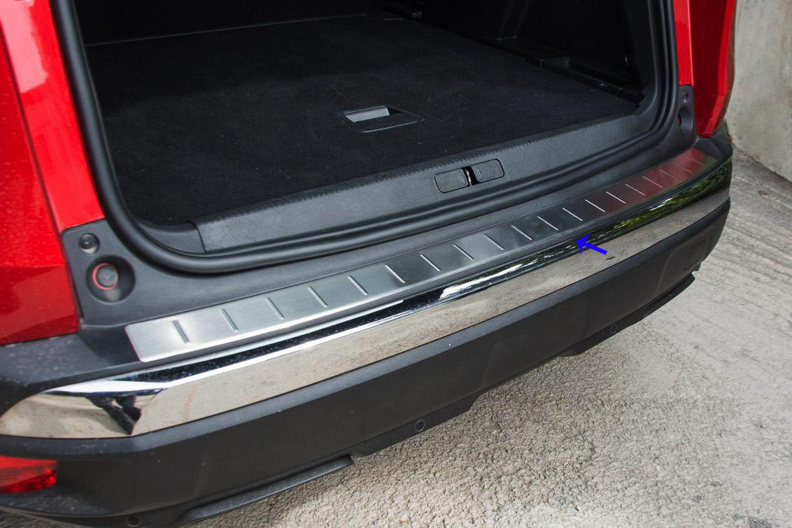 Peugeot 3008 Krom Arka Tampon Eşiği (taşlı) 2016 Üzeri
