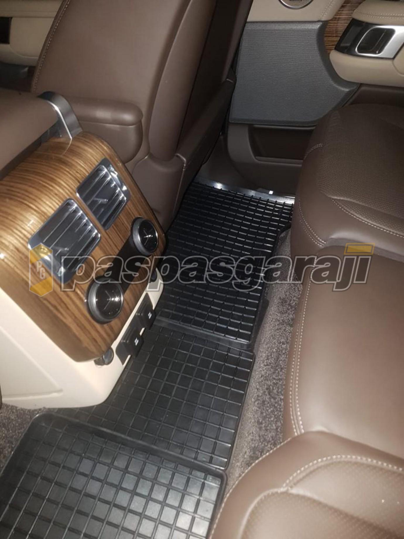 Seintex Land Rover Range Rover Sport 2 2013-2020 Aracınıza Özel Hücre Desenli Havuzlu Paspas