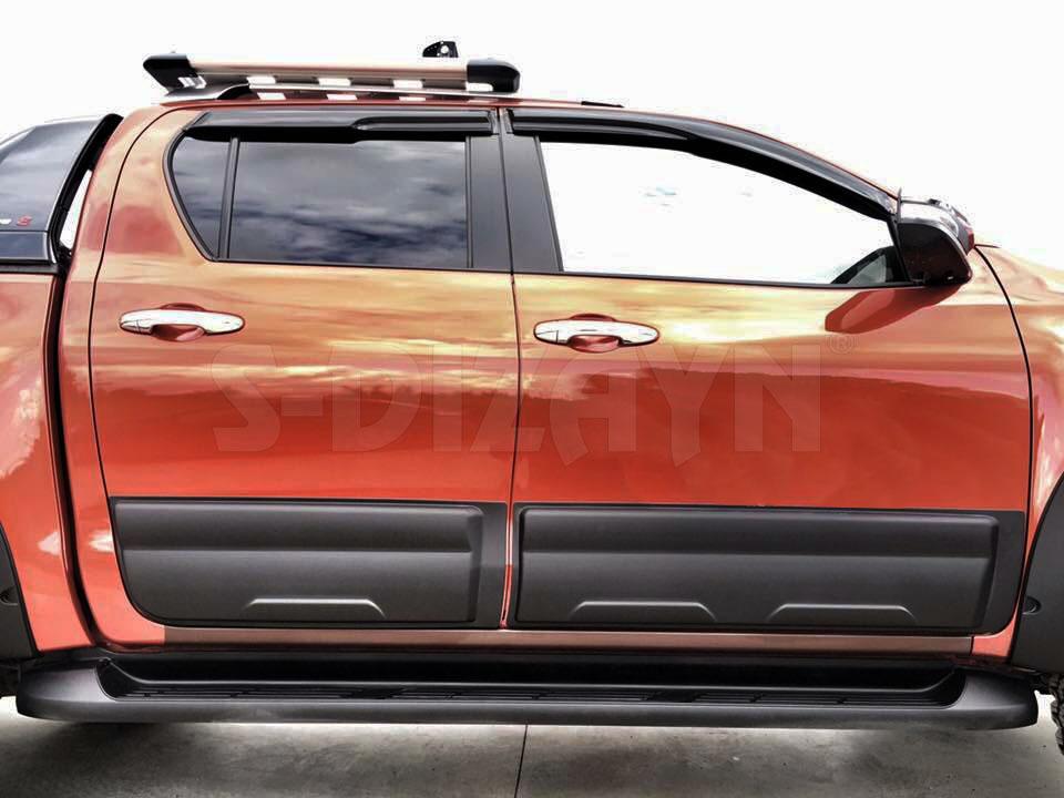 Toyota Hilux Kapı Koruma Ve Çamurluk Kaplaması Dodik Seti Abs Pla
