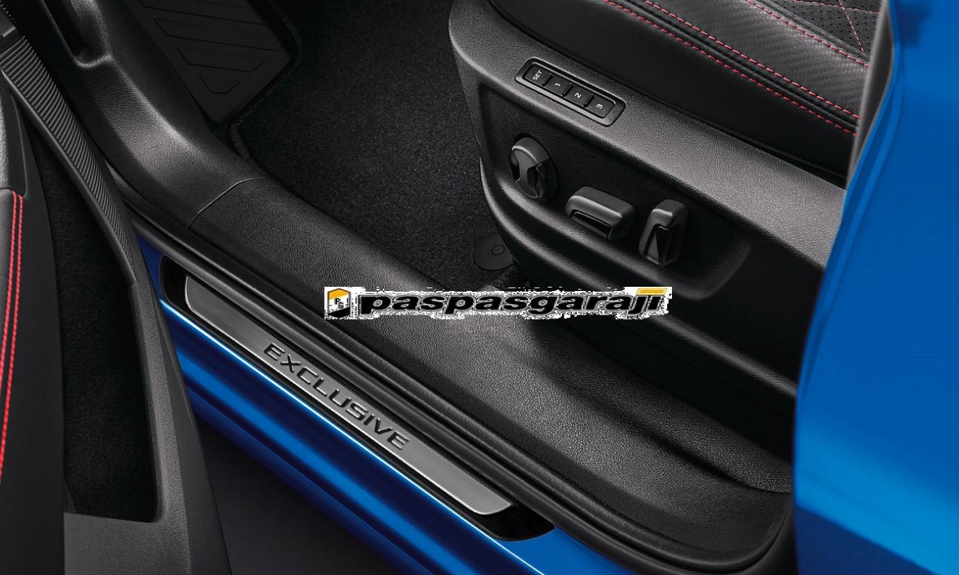 Volkswagen Yeni Passat B8.5 Krom Kapı Eşik Koruması Exclusive Line 2019- Sonrası 4 Parça