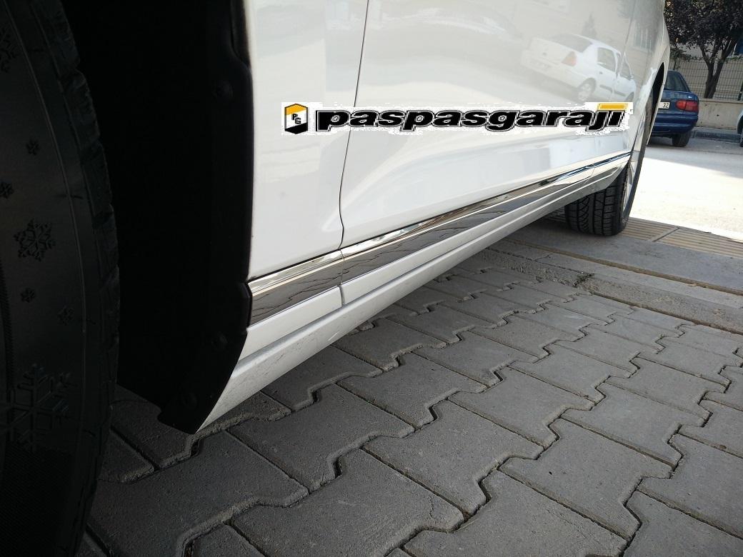 Vw Yeni Passat B8,5 Krom Yan Kapı Çıtası 8 Prç 2019- Üzeri