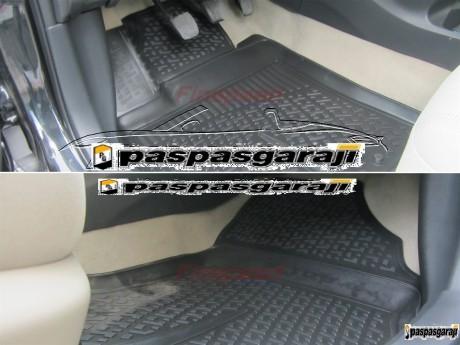 BMW 5 Serisi F10 3D Havuzlu Paspas 2009-2012