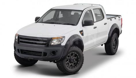 Ford Ranger Çamurluk Kaplaması Dodik Seti Abs Plastik 2012 Üzeri
