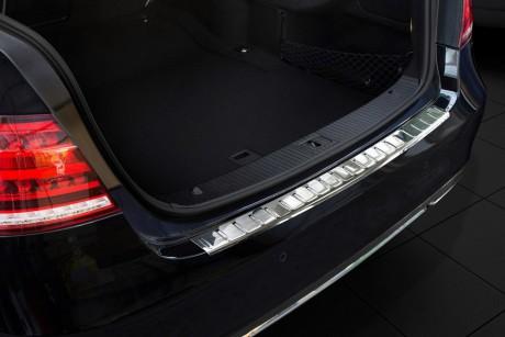Mercedes E Serisi W212 Sw Krom Arka Tampon Eşiği (taşlı) 2010 Üzeri