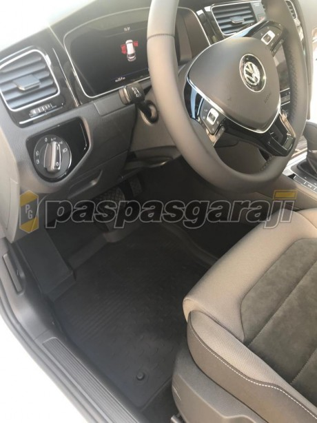 Seintex Volkswagen Yeni Golf 7,5 2017-2019 4d Havuzlu Paspas