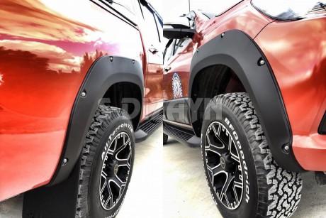 Toyota Hilux Çamurluk Kaplaması Dodik Seti Abs Plastik Vidalı 201