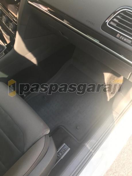 Volkswagen Golf 7,5 2017-2019 Seintex 4d Havuzlu Paspas