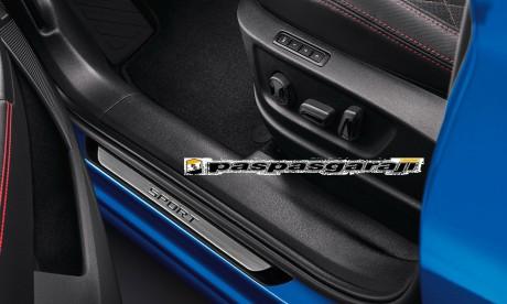 Volkswagen Yeni Passat B8.5 Krom Kapı Eşik Koruması Sport Line 2019- Sonrası 4 Parça